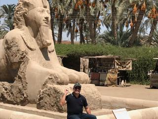 Fernando Mendonça no Egito