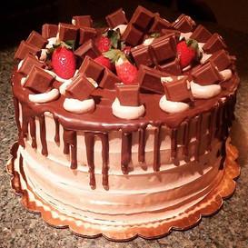 Beautiful chocolate deliciousness!! #deathbychocolate #yum #chocolatechocolate #kupkates #
