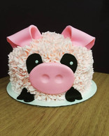 Cute Little Piggy #buttercream #pigcake #kupkates #kupkatescustomcakes #socute.jpg