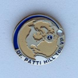 Dr. Patti Hill Supporter Pin - Diamond