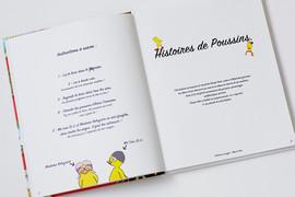 HISTOIRES DE POUSSINS