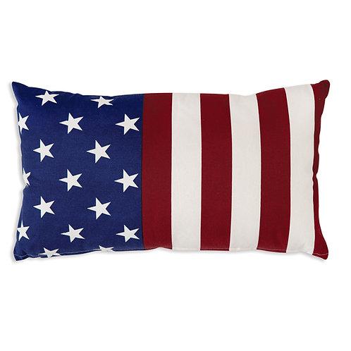 Flag Cotton Throw Pillow