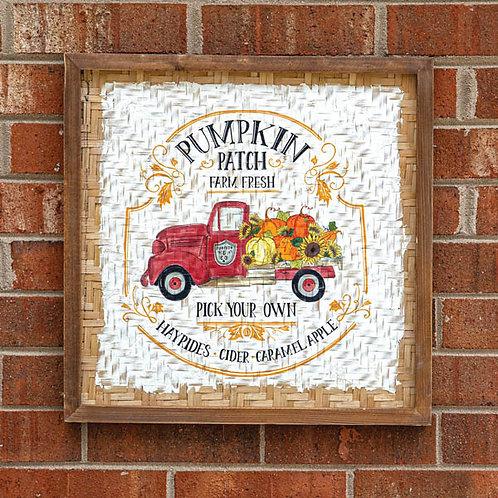 Pumpkin Patch Wall Sign