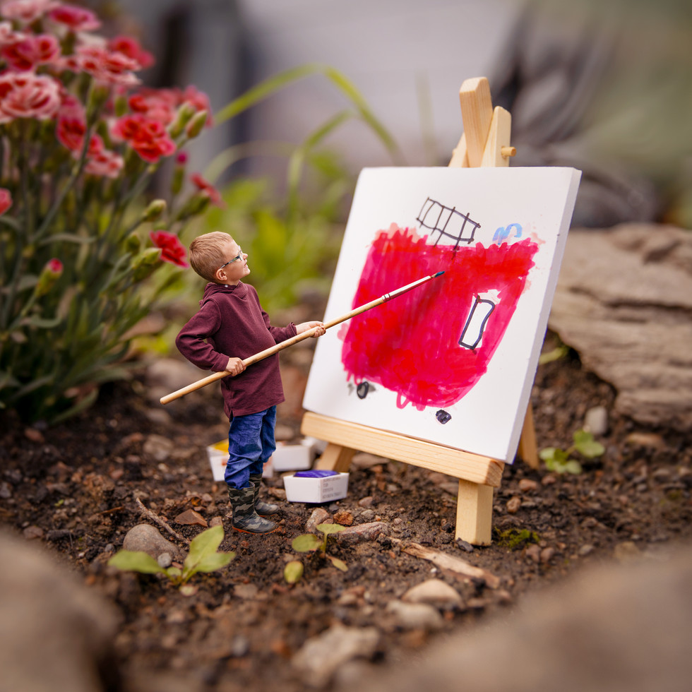 Finn the Artist