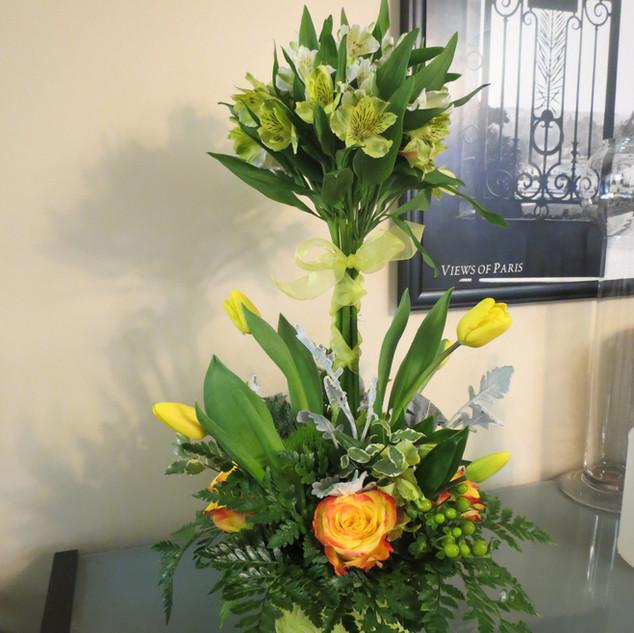 Alstromeria/Tulips/Rose