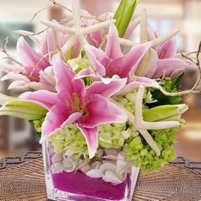Seaside Flower Arrangement