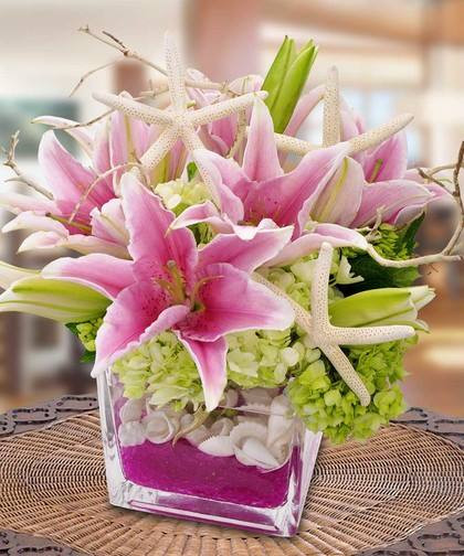 Seaside Flower Arrangement