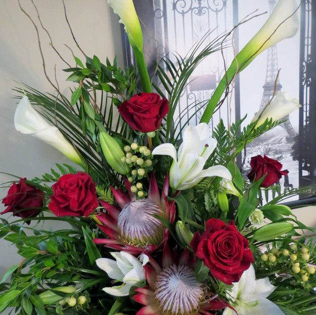 Callas and Protea