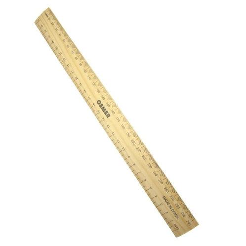 OSMER 30cm Wooden ruler