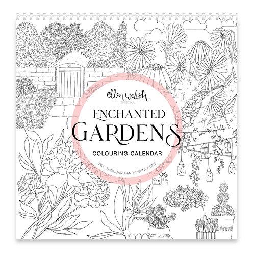 Enchanted Gardens 2021 colouring calander