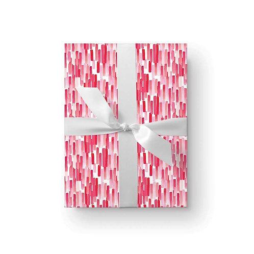 Ellen Walsh set of 3 watercolour stripes wrapping paper
