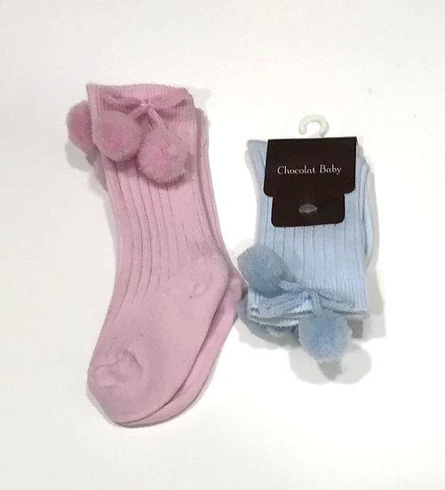 Calcetines borlas