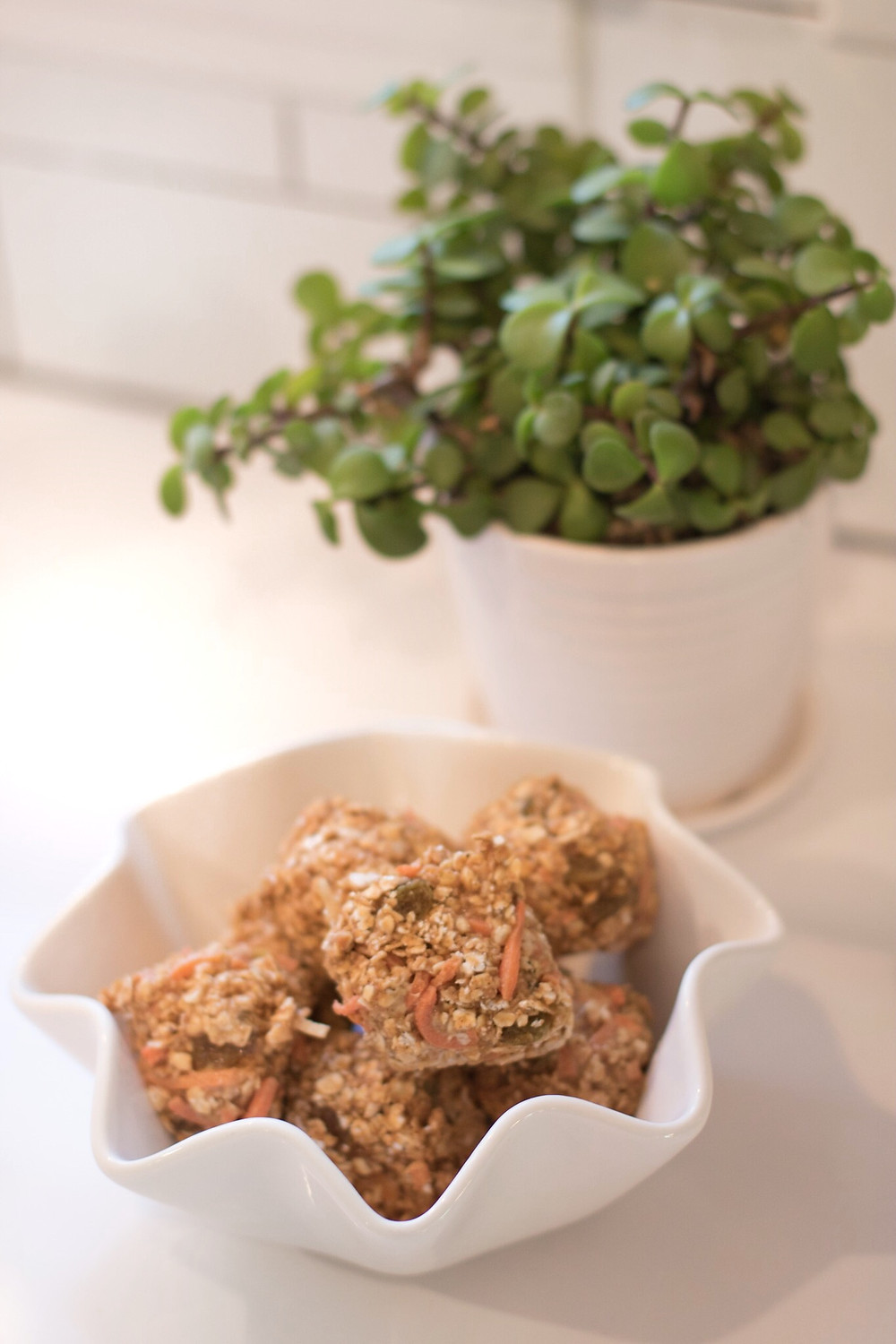 Carrot Cake Energy Balls Recipe by Jolly Bodies Fitness