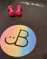 New mats making my heart flutter. . . It's the little things in life. #JB #JollyBodies #JB