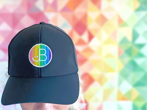 The hat : JB + lululemon baller cap