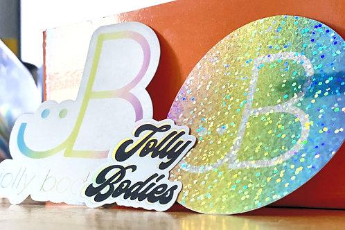 Jolly Bodies sticker pack