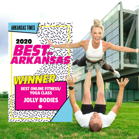 JB wins 2020 Best of Arkansas for online fitness during the pandemic