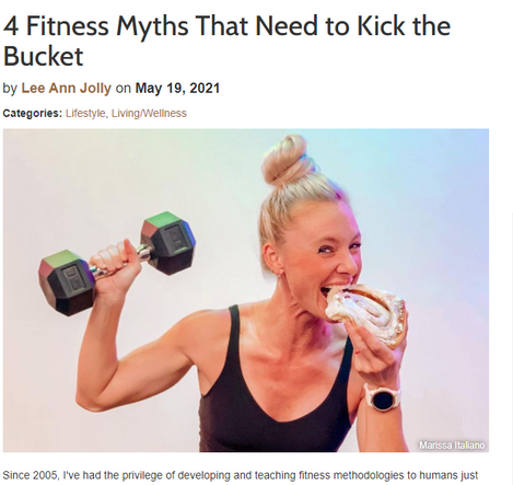 4 Fitness Myths That Need to Kick the Bucket