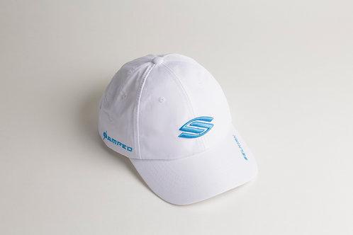 セルカーク白帽子_ライトブルーロゴ