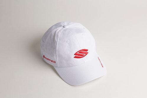 セルカーク白帽子_赤ロゴ