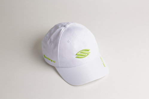 セルカーク白帽子_ライトグリーンロゴ