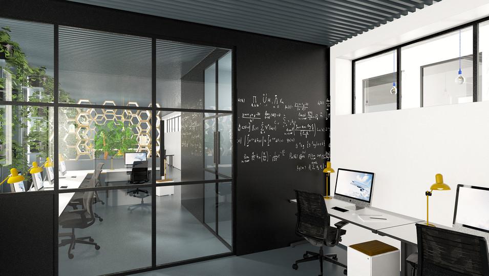 Malluvia München Marcella Breugl Innenarchitektur CTO Airbus Workplace Studenten Büro Büroräume Trennwand.jpg