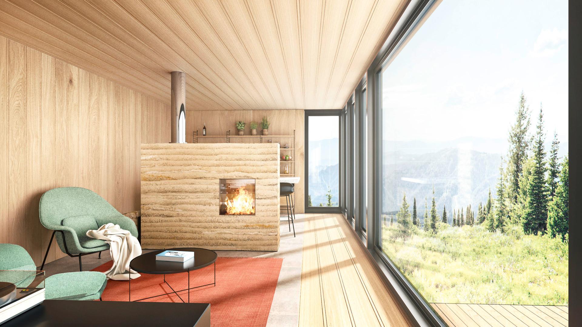 Plant Haus Malluvia Marcella Breugl München Innenarchitektur Wohnen Glasfront Holzverkleidung