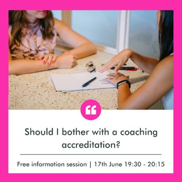 Rough Guide to Coaching Accreditation