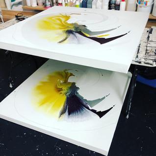 Yellow Swirls 2