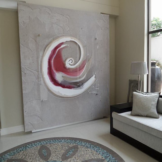 Swirl on Perspex
