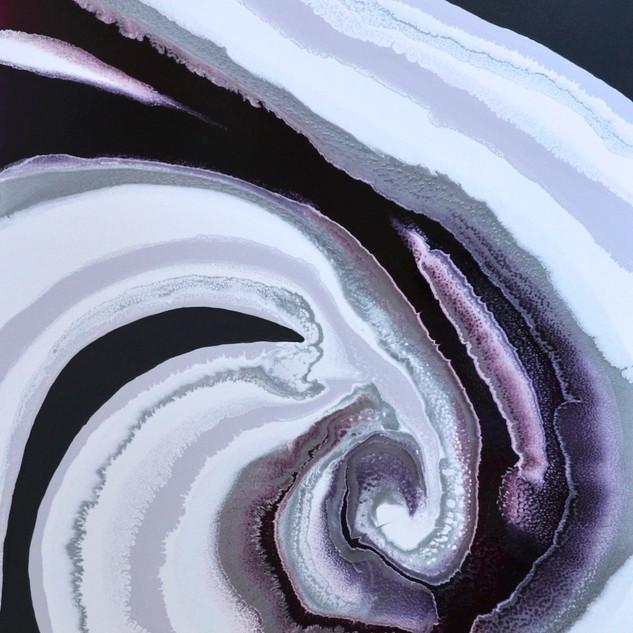 mauve Spiral