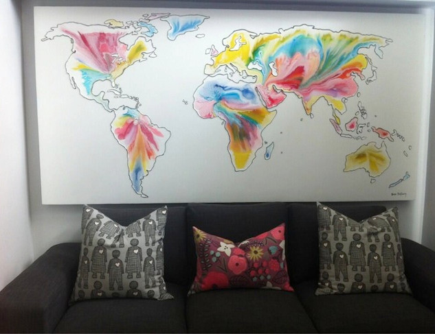 Lisa World map