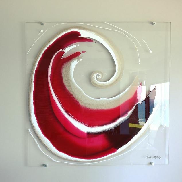 Perspex swirl