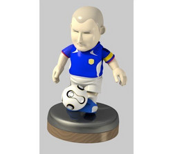 サッカー人形
