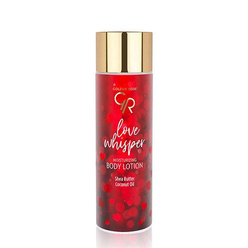 GOLDEN ROSE LOVE WHISPER MOISTURIZING BODY LOTION WITH SHEA BUTTER & COCONUT OIL