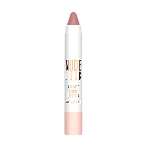 GR NUDE LOOK CREAMY SHINE LIPSTICK NO:03 PEACHY NUDE COLOR