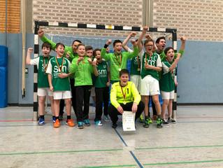 Männliche D-Jugend des TSV Rudersberg Staffelsieger