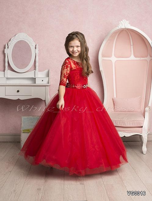 Детское нарядное платье VG0016