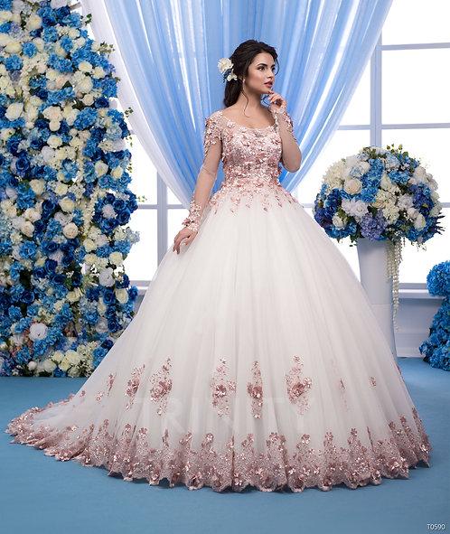 Свадебное платье T0590