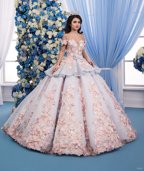 Свадебное платье T0555