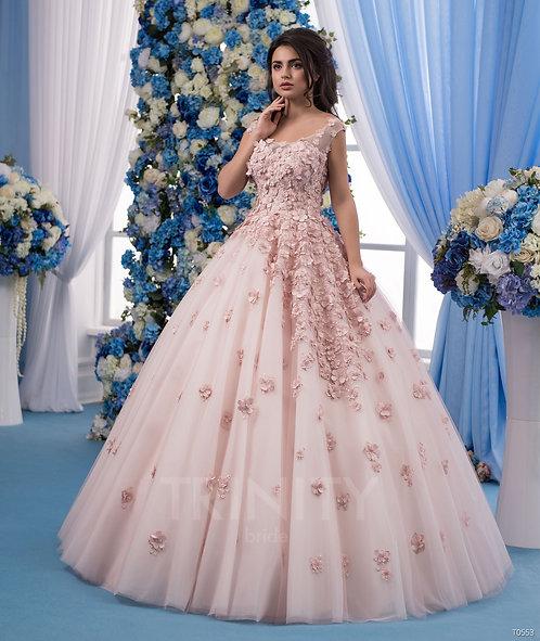 Свадебное платье T0553