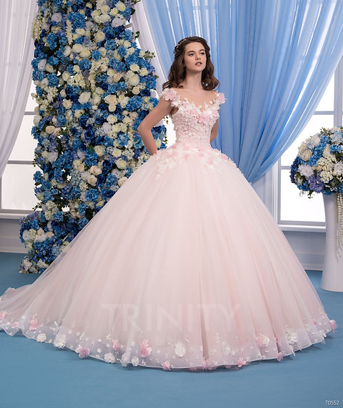 Свадебное платье T0552