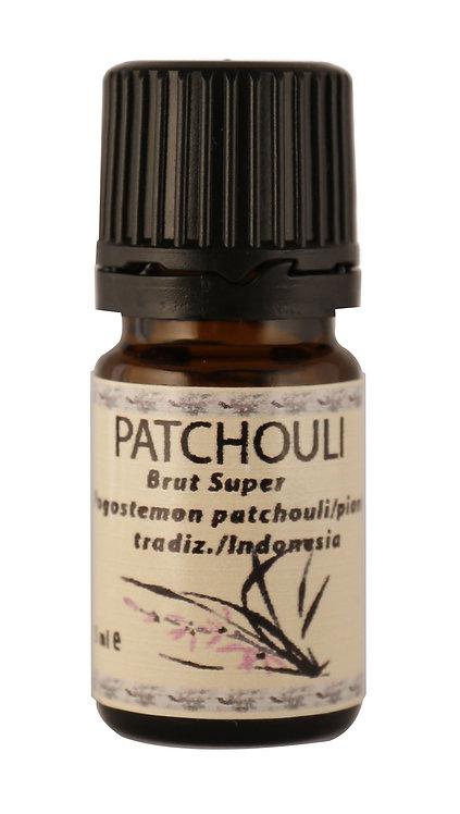 PATCHOULI  BRUT Super (Pogostemon Cablin) 5 ml