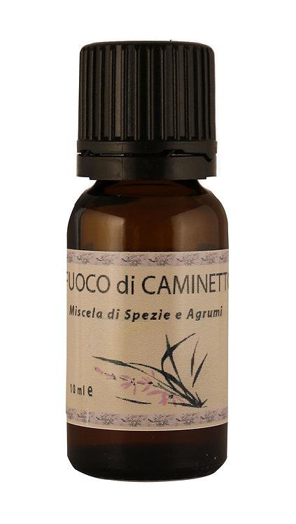 FUOCO DI CAMINETTO (miscela agrumi e spezie) 10 ml