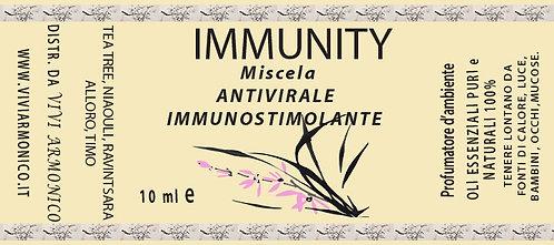 IMMUNITY mix oli essenziali 10 ml