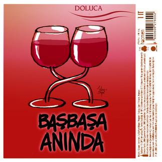 Doluca için şarap etiketi