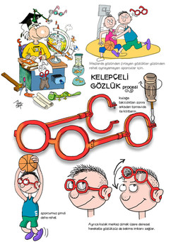 kelepçeli gözlük