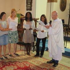 Commissioning of Sunday School Teachers