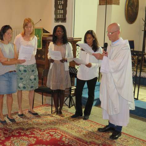Commissioning of Sunday School Teachers