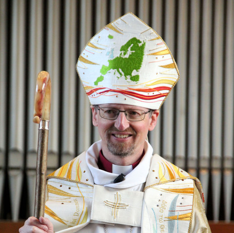 Our Diocesan Bishop, the Right Revd Dr Robert Innes